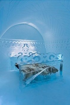 8 Stunning Ice Hotels From Around The World So chill. Ice Hotel Sweden, The Places Youll Go, Places To Go, Snow Sculptures, Metal Sculptures, Bronze Sculpture, Wood Sculpture, Glamping, Ice Bars