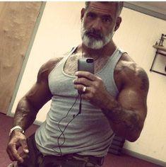 Anthony Varrecchia from Paolo Yossef Anthony Varrecchia, Sexy Beard, Bear Men, Muscular Men, Mature Men, Older Men, Hairy Men, Attractive Men, Beard Styles