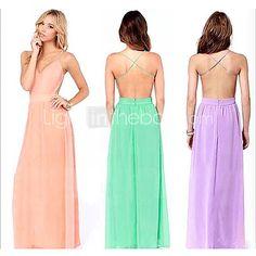 Vestidos ( Algodão ) MULHERES - Sexy/Casual - BRL R$53.30