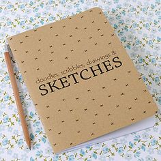 Doodles, Scribbles And Sketches Notebook