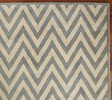 Hayden Zig Zag Rug Swatch, Porcelain Blue/Ivory - thinking about this rug b/c the original one I ordered was back-ordered so far they couldn't fulfill it!