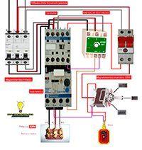 Esquemas eléctricos: Comando motobomba y rele falta de fase