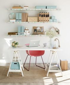 Ideas Home Office Layout Diy Desk For 2019 Home Office Layouts, Home Office Design, Home Office Decor, Rustic Home Offices, Ideas Hogar, Workspace Inspiration, Creative Home, New Room, Office Interiors