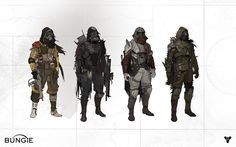 Sci Fi Armor Concept Art | ... Bungie shaped Destiny from fantasy to 'mythic sci-fi' world | Polygon