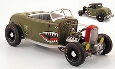 Ford 32 series aero rat rod green GMP diecast model car 1/18 - Buy/Sell Diecast car on Alldiecast.us