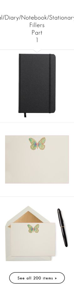 """""""Journal/Diary/Notebook/Stationary/Pen Fillers Part 1"""" by gravityfallsgirl33 ❤ liked on Polyvore featuring home, home decor, stationery, fillers, books, notebooks, accessories, other, magazine and things"""
