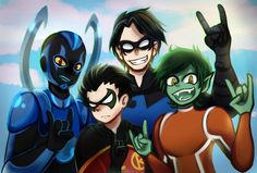 justice_league_vs_teen_titans__bois_by_abakura-d9z4db5.jpg (1024×693)
