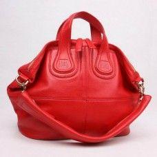 Givenchy Medium Nightingale Rouge Sac Online Solde