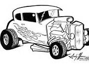 hot rod coloring page bing images