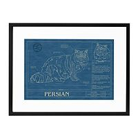 CAT BLUEPRINTS|UncommonGoods, they have the Ragdoll....great gift for hubby