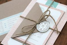 Ruby & Willow. Home grown & gorgeous wedding stationery AND a Q&A session with the creator Kate Holland. - PAPER & LACE