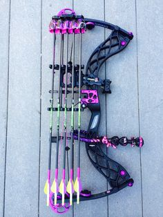 Carbon Rose by Bowtech....I want this bow !!!