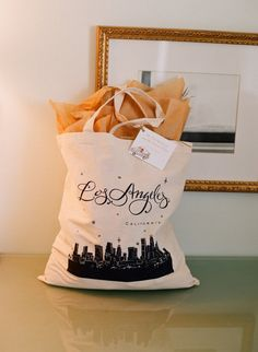 A great favor or wedding welcome bag! Photography By / elizabethmessina.com, Design   Planning By / mindyweiss.com