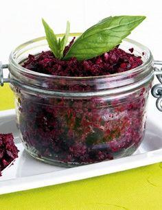 Pesto Hummus, Healthy Food Alternatives, Raw Food Recipes, Healthy Recipes, Beetroot, Yummy Food, Vegetarian, Healthy Eating, Cooking
