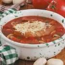 Pizza Soup Recipe | Taste of Home Recipes Serve with cheesy french bread