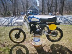 1979 Husqvarna 250OR, I throw a 125CR tank on & then sold it, didn't like the gearing was way too high for MX