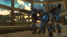 The blue team. Halo Reach.