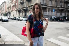florals and red