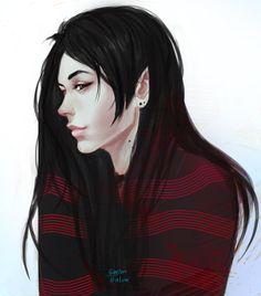 AT. Marceline by ~GuppyBlue on deviantART