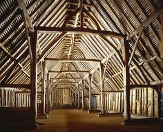 You never thought a barn could be so amazing. One of the finest surviving medieval barns in eastern England, tree-ring dated to the mid-15th century, with a breathtaking aisled interior and crown post roof, the product of some 400 oaks.