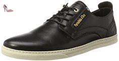 Pantofola d'Oro  Vigo Uomo Low, chaussons d'intérieur Homme, Noir (Black 3004) 46 EU - Chaussures pantofola doro (*Partner-Link)