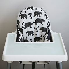 PREORDER: IKEA Antilop Highchair Cover // by YeahBabyGoods on Etsy