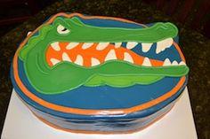Gators Cake
