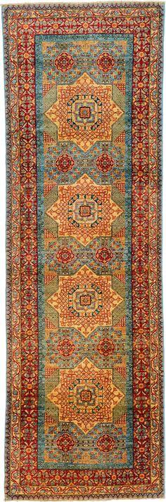 Blue 2' 11 x 9' 1 Mamluk Ziegler Rug | Oriental Rugs | eSaleRugs