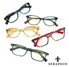 5a6a1fd974 Seraphin is re-defining eyewear by adapting the finest elements of luxury  eyewear from the past into fresh
