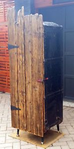 Steamer Wardrobe Trunk Bar Armoire with Barnwood Doors- UNIQUE City of Toronto Toronto (GTA) image 1