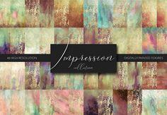 Painted Texture Bundle – Impression