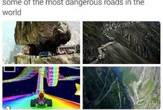 Who could ever forget about Rainbow Road
