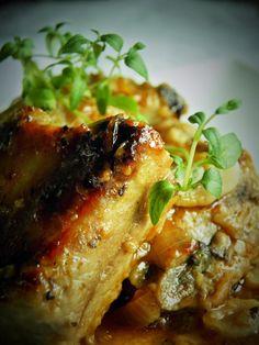Sio-smutki: Żeberka duszone z czosnkiem (w sosie)