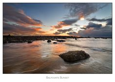 Saltcoats Sunset
