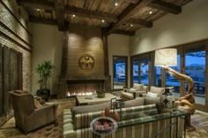 Incredible family room design by Red Rock Contractors