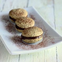 You cant blame me for Tiramisu-ing any possible thing in sight. After the delicious pancakes, its time to tiramisu a cookie! These are Somewhat Tiramisu whoopie pies, crunchy with a coffee caramel center. The crunchy Cashew Oat cookies are almost a macaron, filled with a creamy coffee caramel. I used rum in this version, but...Continue reading »