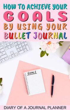 The ultimate guide to setting goals in your bullet journal, complete with all the best spread ideas you need to try! #goalsetting #bulletjournalgoals #bulletjournalspreads Bullet Journal Goals Layout, Bullet Journal Hacks, Bullet Journal Printables, Bullet Journal Aesthetic, Bullet Journal Spread, Bullet Journal Inspiration, Journal Pages, Journal Ideas, Journals