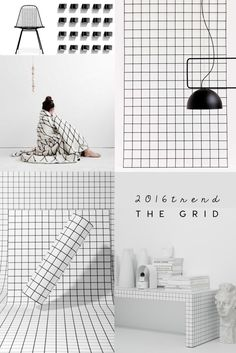 ITALIANBARK interior design blog 2016 interior trends - grid interior trend, grid design, grid pattern. #gridtrend #gridpattern #interiortrends