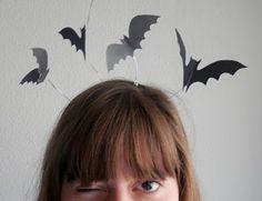 DIY : serre-tête chauves-souris / bat headband