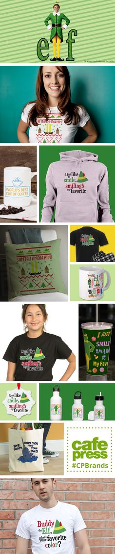 Do you like smiling? Is smiling your favorite? If so, check out our Elf Gift Guide to find gifts for the person you know that is spreading Christmas cheer by singing loud for all to hear.