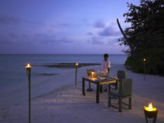 Offering a different menu everyday, while the By the Beach restaurant offers authentic Japanese and Korean .cuisine.http://www.theluxurylisting.com/soneva-fushi-maldives/