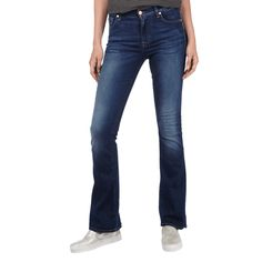 | #7 for #all #mankind #Damen #Stone #Washed #Bootcut #Jeans