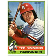 Ted Simmons - 1976