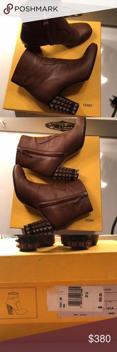 Fendi Heels Authentic Fendi spike heels Fendi Shoes Heels