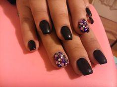matt black and a lot of stones :D