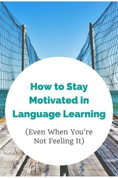 Using your language of choice is best and might even make someone else's day #LearnGerman #German #Deutsch How to Stay Motivated in Language Learning (Even When You're Not Feeling It)