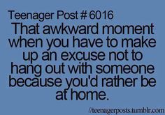 Now I can hang out At home and with my BFF Teen Posts, Teenager Posts, Teen Life, Awkward Moments, I Can Relate, Story Of My Life, Just For Laughs, True Stories, The Funny