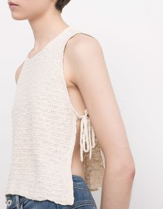 TOP WITH SIDE LACES - NEW PRODUCTS - NEW PRODUCTS - PULL&BEAR Greece