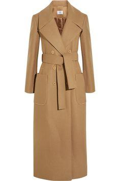 Carven - Wool-blend trench coat. AbrigosChaquetasTips De ModaModa Para  MujerRopaRegalosAbrigo BeigeBeige MarrónGabardinas 0f494cc183c2