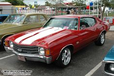 72 chevelle  (one day we'll own both the chevelle and the nova. i can't waaaait!)